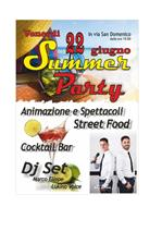 Locandina Summer Party